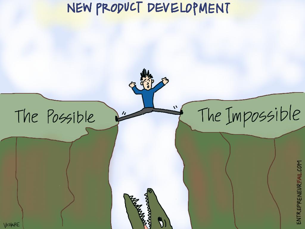 #entrepreneurfail New Product Development